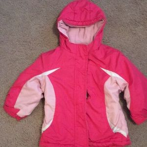 Toddler jacket with hood